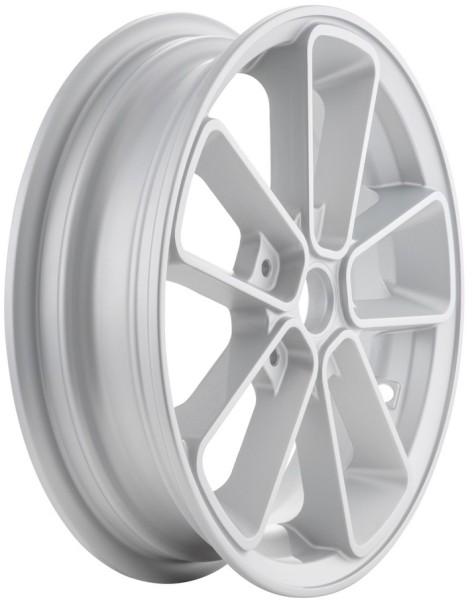 """Felge vorne/hinten 12"""" für Vespa GTS/GTS Super/GTV/GT 60/GT/GT L 125-300ccm, silber"""