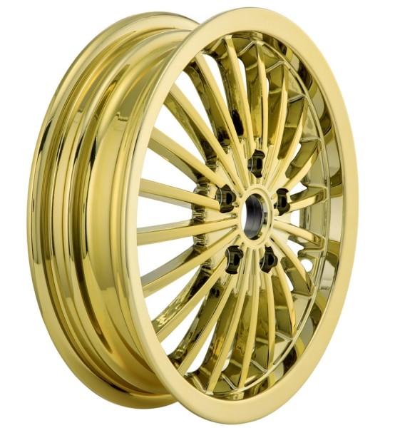 Felge vorne/hinten für Vespa GTS/GTS Super/GTV/GT 60/GT/GT L 125-300ccm, gold