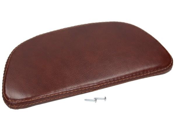 Original Echtleder Rückenlehne für Topcase Braun (Leder) Vespa LX