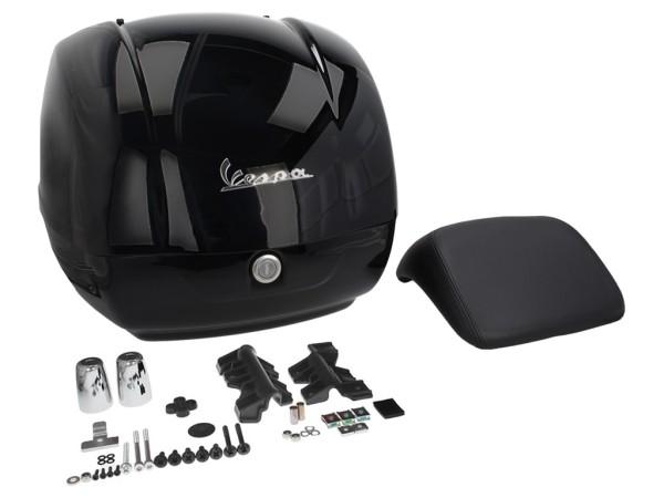 Original Topcase für Vespa GTS - schwarz glänzend 094
