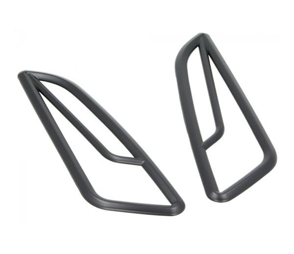 Blinkergitter vorne, schwarz, für Vespa Primavera / Sprint 50-150