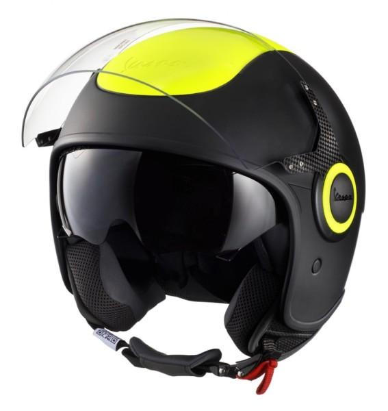 Vespa VJ Fluo Helm gelb fluoreszierend
