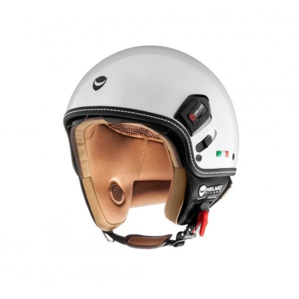 Helmo Milano Demi Jet, Puro Premium, weiß, glänzend