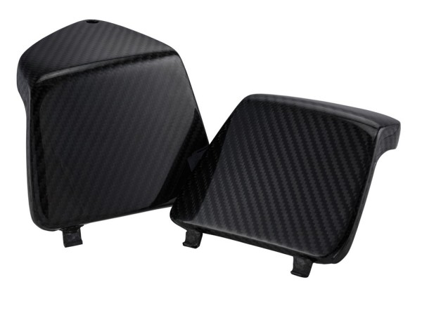 Gepäckfachblende links/rechts für Vespa GTS/GTS Super/GTV/GT 125-300ccm, Carbon