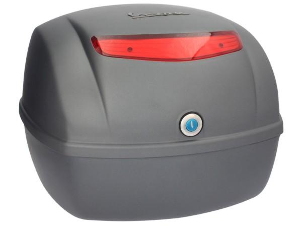 Original Topcase für Vespa LX / S - grigio titanio 742/B